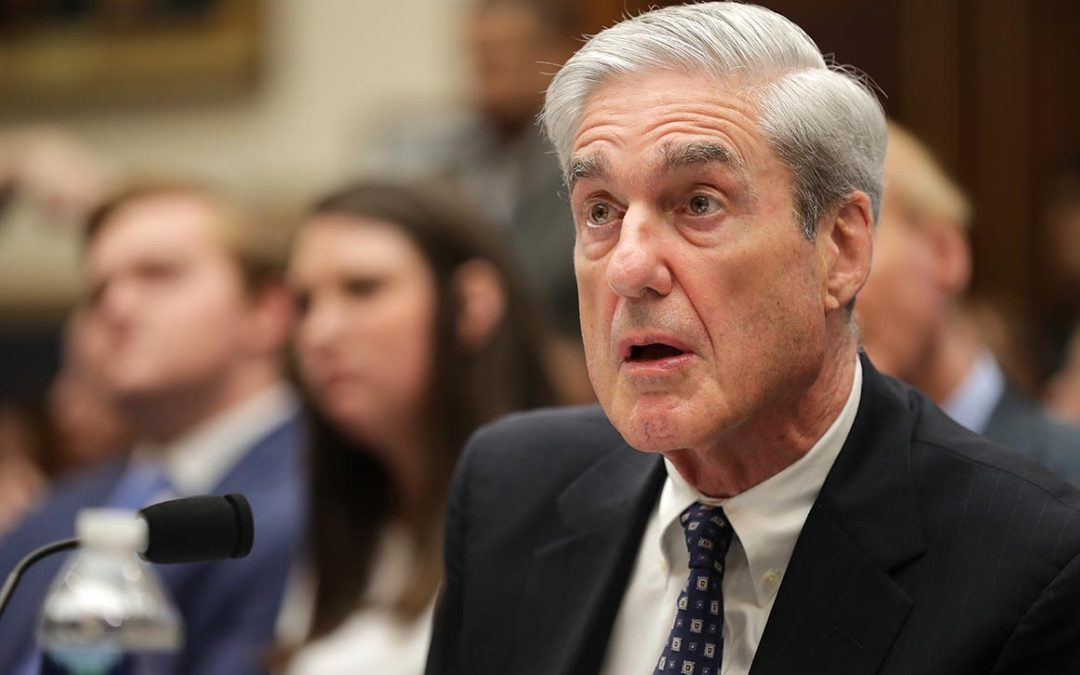 How many times has the Mueller report been downloaded?