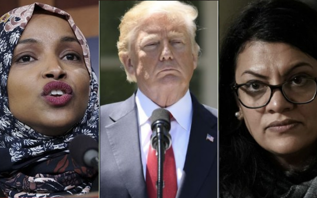 Lawmakers blast Trump as Israel bars door to Tlaib and Omar